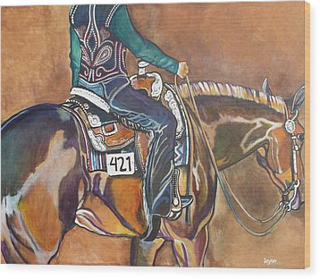 Bling My Ride Wood Print by Stephanie Come-Ryker