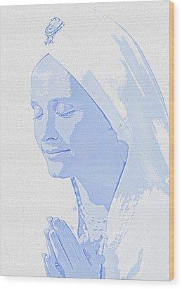 Bliss Is God Wood Print