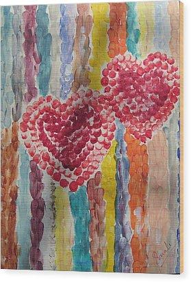 Bliss Wood Print by Sonali Gangane