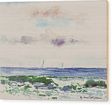 Block Island Sound Wood Print