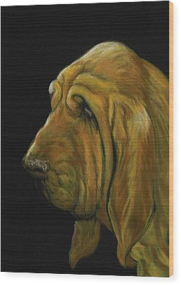 Bloodhound Wood Print