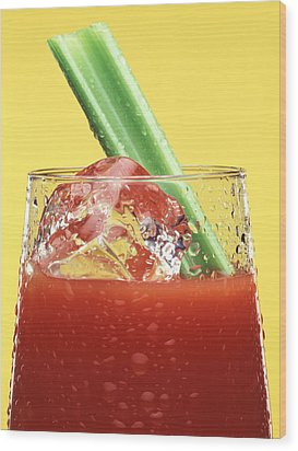 Bloody Mary Wood Print by Steven Huszar