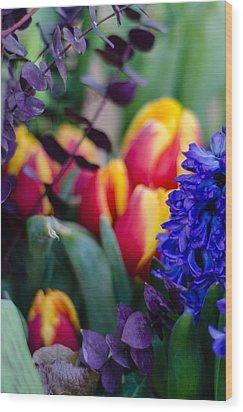 Bloomin' Spring Wood Print
