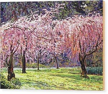 Blossom Fantasy Wood Print by David Lloyd Glover