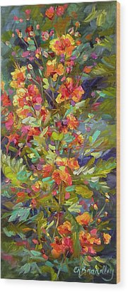 Blossoms Of Hope Wood Print by Chris Brandley