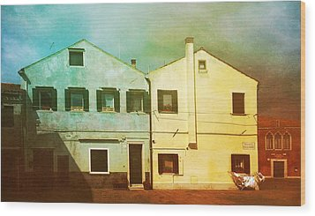 Wood Print featuring the photograph Blowing In The Wind by Anne Kotan