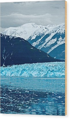 Blue Alaska Wood Print by Don Mennig