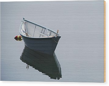 Blue Dory Wood Print by Lee Yeomans