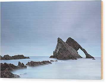Wood Print featuring the photograph Blue Fiddle by Grant Glendinning