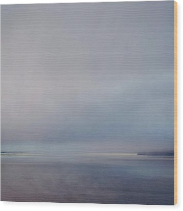 Wood Print featuring the photograph Blue Haze by Sally Banfill