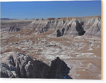 Wood Print featuring the photograph Blue Mesa by Gary Kaylor
