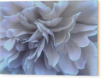 Wood Print featuring the photograph Blue Moon by Darlene Kwiatkowski