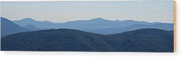 Blue Ridge Wood Print by Jean Haynes