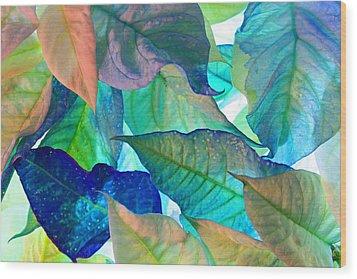 Blue Velvet Wood Print by Bobby Villapando