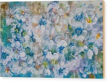 Bluebonnet Wood Print by Don  Wright