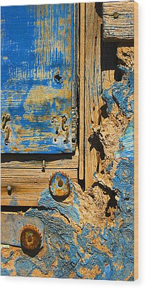 Blues Dues Wood Print by Skip Hunt