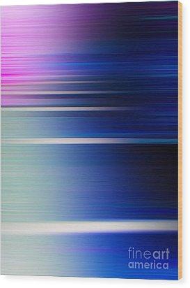 Blur 29 Wood Print by Horacio Martinez