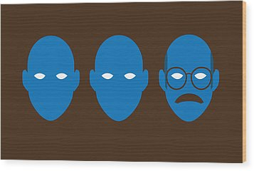 Bluth Man Group Wood Print by Michael Myers