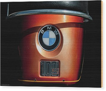 Wood Print featuring the photograph Bmw 100 S by Britt Runyon