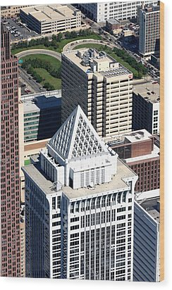 Bny Mellon Center 1735 Market Street Philadelphia Pa 19103 2998 Wood Print by Duncan Pearson