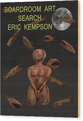 Boardroom Art Wood Print by Eric Kempson
