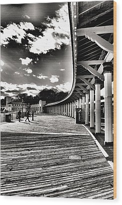 Boardwalk Wood Print by Laura DAddona