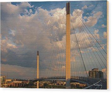 Bob Kerry Bridge At Sunrise-3 Wood Print