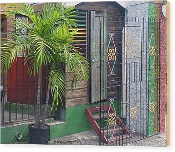Bob Marley's Home In Kingston Wood Print