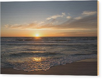 Boca Grande Sunset Wood Print