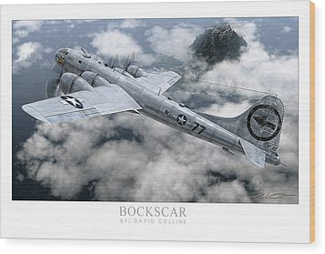 Bockscar  Wood Print by David Collins