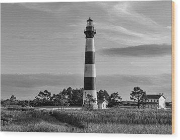 Bodie Island Light Station Wood Print by Gregg Southard