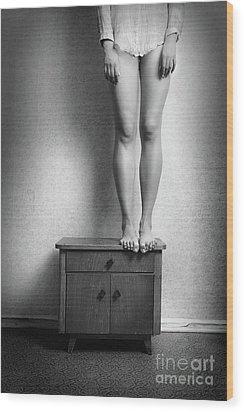 Body #7044 Wood Print