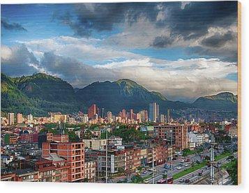 Bogota Wood Print