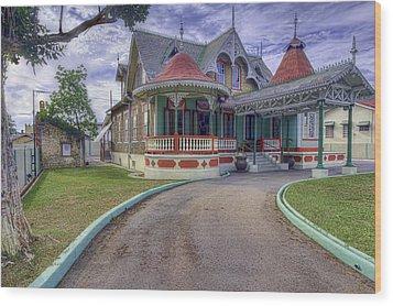 Boissiere House Wood Print