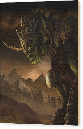 Bolg The Goblin King Wood Print