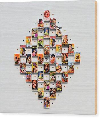 Bollywood On A Mathbox 2 Wood Print