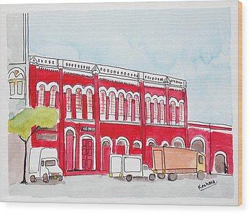 Bombay Samachar  Wood Print