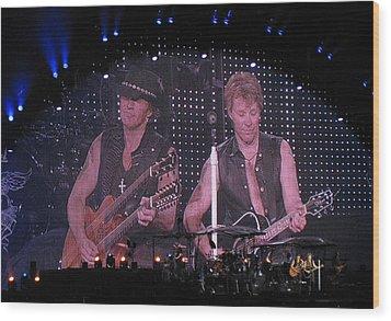 Bon Jovi Wood Print