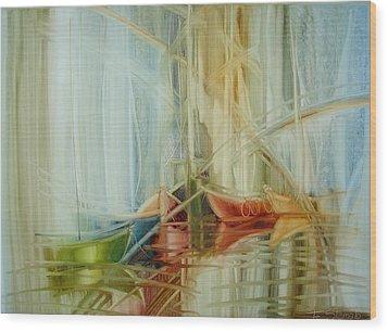 Bon Voyage Wood Print by Fatima Stamato