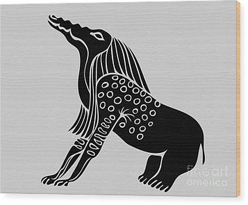 Bone Eater Wood Print by Michal Boubin