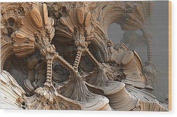 Bone Mountain Wood Print