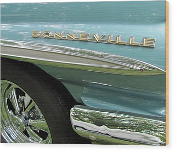 Bonneville Wood Print by Anita Burgermeister