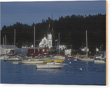 Boothbay Harbor Maine 2 Wood Print