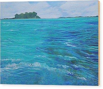 Bora Bora  Wood Print