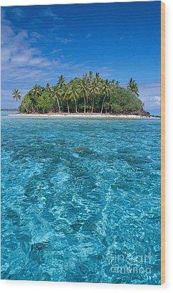 Bora Bora, Motu Wood Print by Joe Carini - Printscapes
