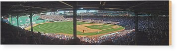 Boston Fenway Park Wood Print by Juergen Roth