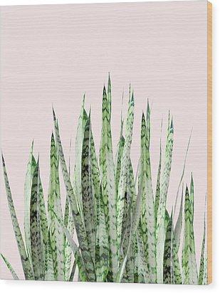 Botanical Balance Wood Print by Uma Gokhale