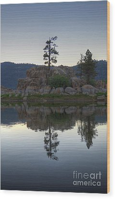 Wood Print featuring the photograph Boulder Bay Reflections  by Kelly Wade