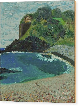 Boulder Beach Wood Print by Paul McKey