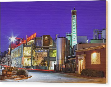 Boulevard Brewing Kansas City Wood Print